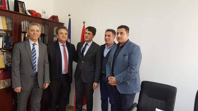 Delagacioni i Lobit Euro-Atlantik Shqiptar, viziton Ministrinë e Diasporës